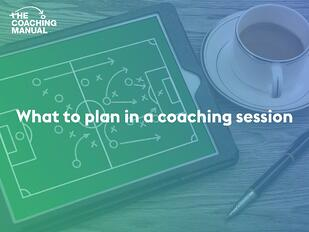 what to plan in a coaching session-min